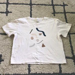 Madewell face t-shirt